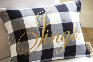 Farmhouse Pillow Buffalo Check Plaid Buffalo Plaid Pillow - Holiday Pillows - The Burlap Cottage®