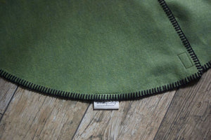 Felt Christmas Tree Skirt Green - Christmas Tree Skirt - The Burlap Cottage®