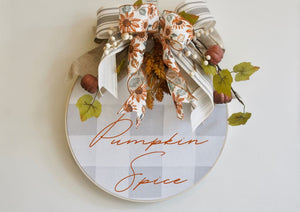 Hello Wreath Harvest Wreath - Wreaths - The Burlap Cottage®