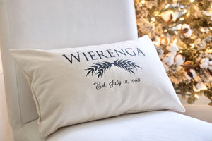 Housewarming Gift Rustic Home Decor - Holiday Pillows - The Burlap Cottage®
