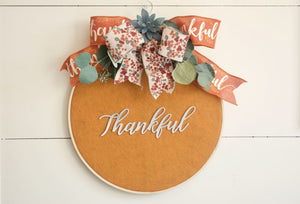 Metal Letters Succulent Wreath - Wreaths - The Burlap Cottage®