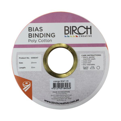 BIAS POLYCOTTON 25MM (suitable for Face Mask)