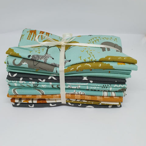 Safari Life Fat Quarter Bundle