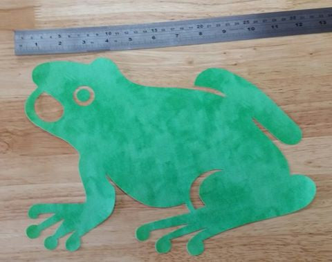 "Fab Shapes 13"" Frog"