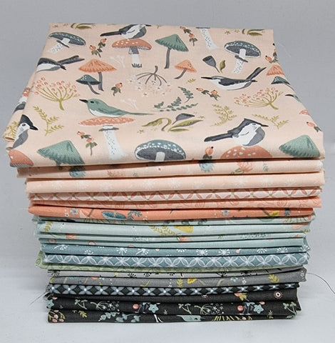 WoodLands Songbirds Fat Quarter Bundle