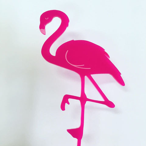 This is a picture of Printable Flamingo Template intended for 13th birthday
