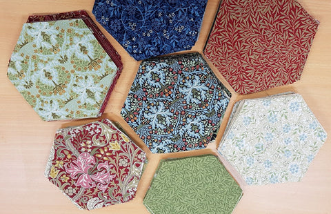 "Hexagon Kits - 3 1/2"" Finished Morris Garden"