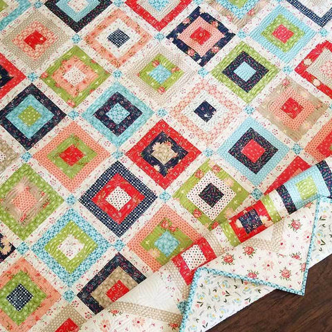 Harper's Garden Quilt Kit by Sherri and Chelsi