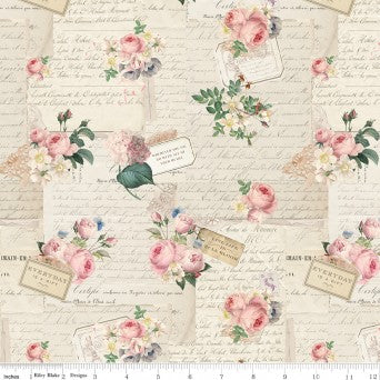 Rose & Violet's Garden Party Parchment C10411