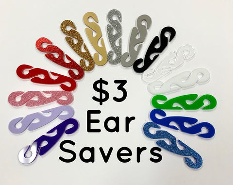 Ear Savers / Suitable for Face Masks
