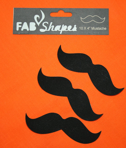 "Fab Shapes 4"" Mustache"