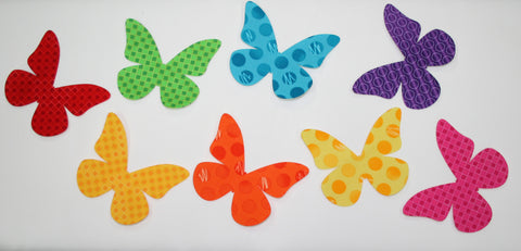 "Fab Shapes 3"" Butterflies"
