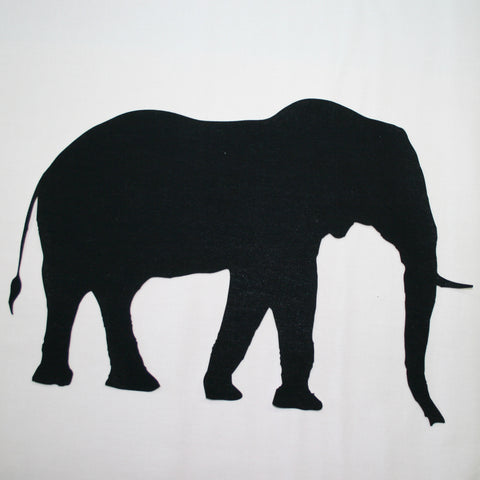 Fab Shapes Elephant Silhouette