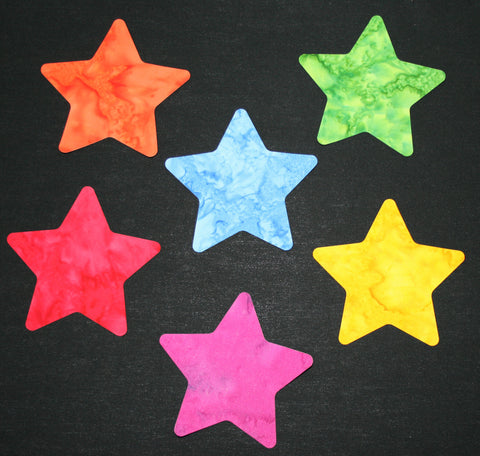 "Fab Shapes 4""Stars Rounded"