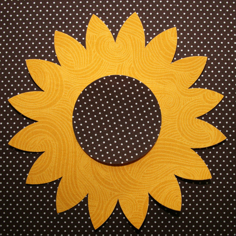 "Fab Shapes 5"" Sunflowers"