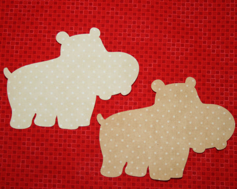 "Fab Shapes 4"" Hippos"