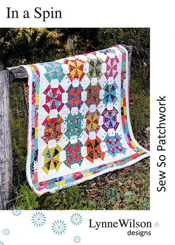 In A Spin Pattern By Lynne Wilson Designs