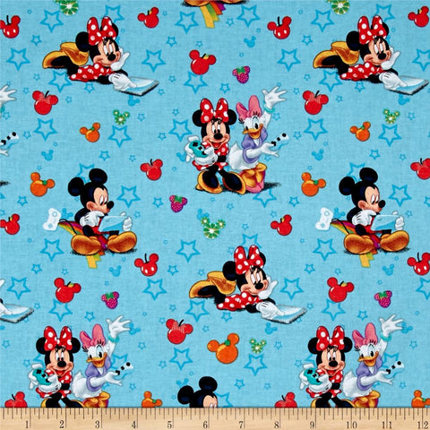 Mickey and Friends Playtime Fabric