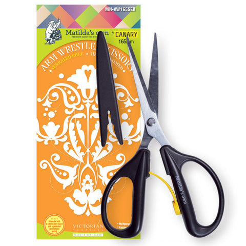 Arm Wrestler Serrated Scissors 165mm