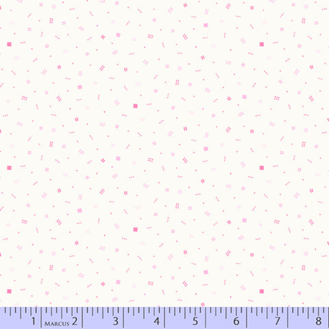 Happy Thoughts Pink- Sarah Maxwell Marcus Fabrics