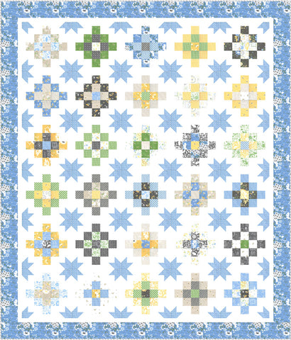 Spring Brook Quilt Kit by Corey Yoder