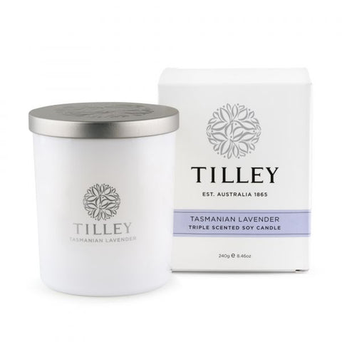 Tasmanian Lavender Triple Scented Soy  Candle 240g / 45 Hour