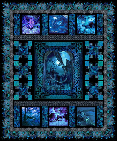 Dragons by Jason Yenter Quilt Kit
