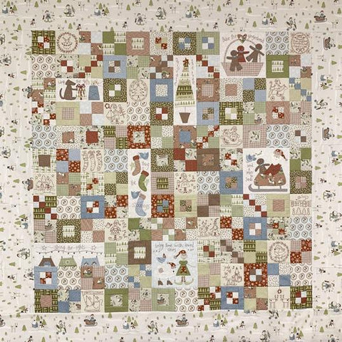 Make Ready For Christmas Quilt Kit by The Birdhouse