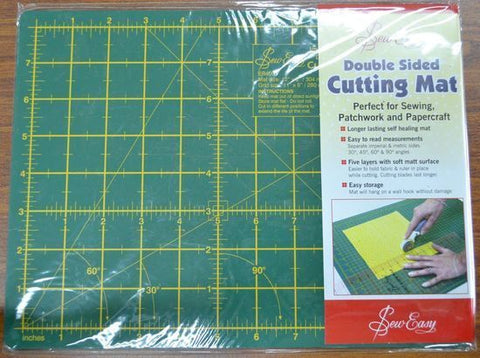 "Sew Easy Double Sided Cutting Mat 12"" x 9"""