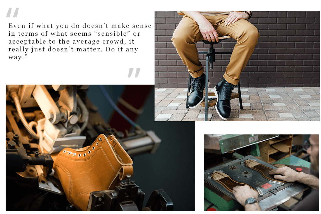 Brand Spotlight: Helm Boots Quote