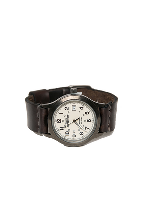 12 Degrees West - The Expeditioner Watch - Burgundy