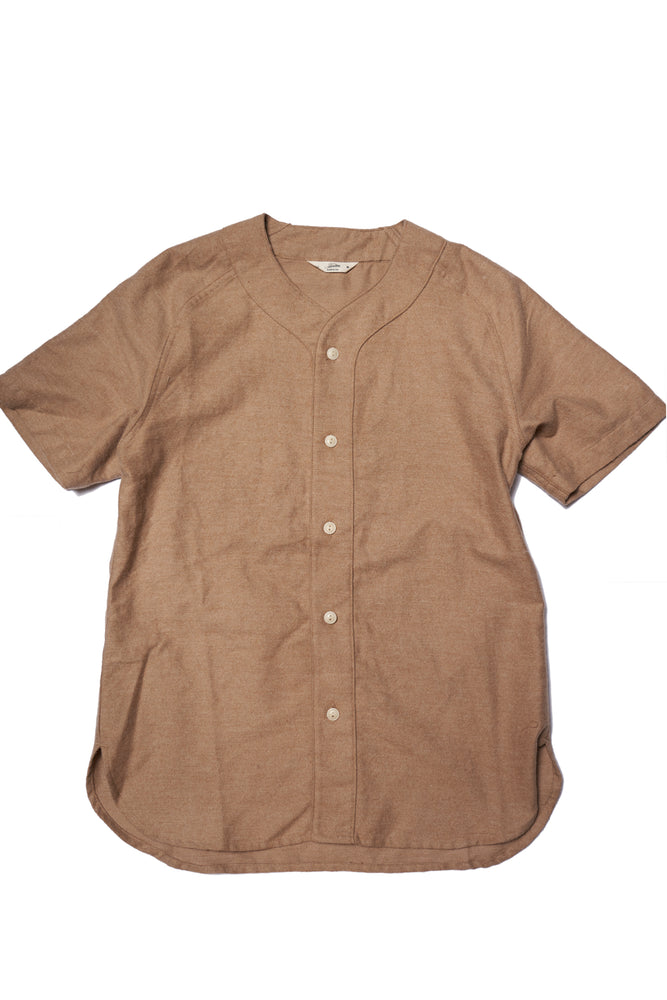Baseball Shirt - Camel