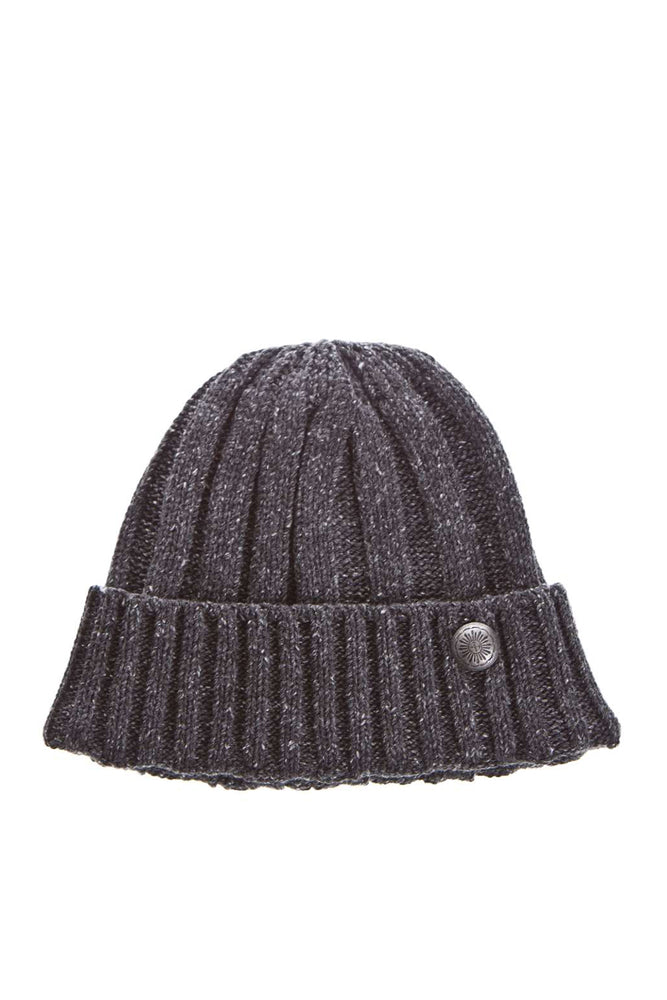 Cable Knit Watch Cap - Charcoal