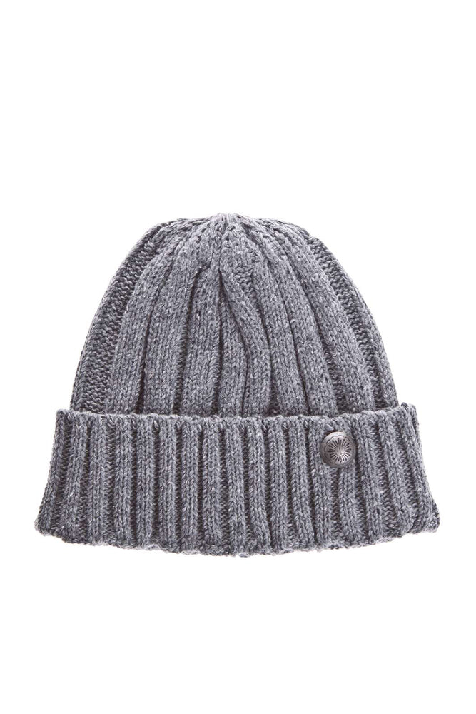 Cable Knit Watch Cap - Grey