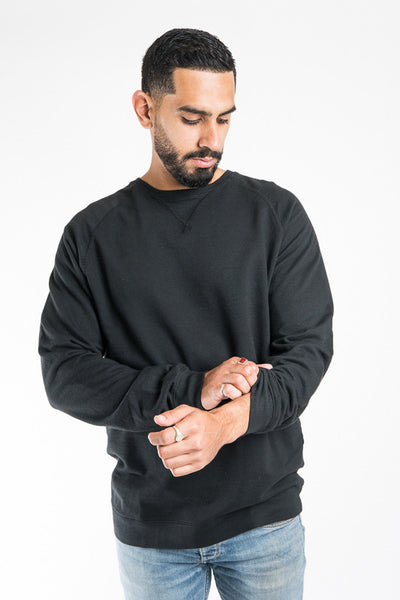Almond Kapono Sweatshirt Black