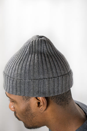 American Trench Charcoal Merino Wool Watch Cap