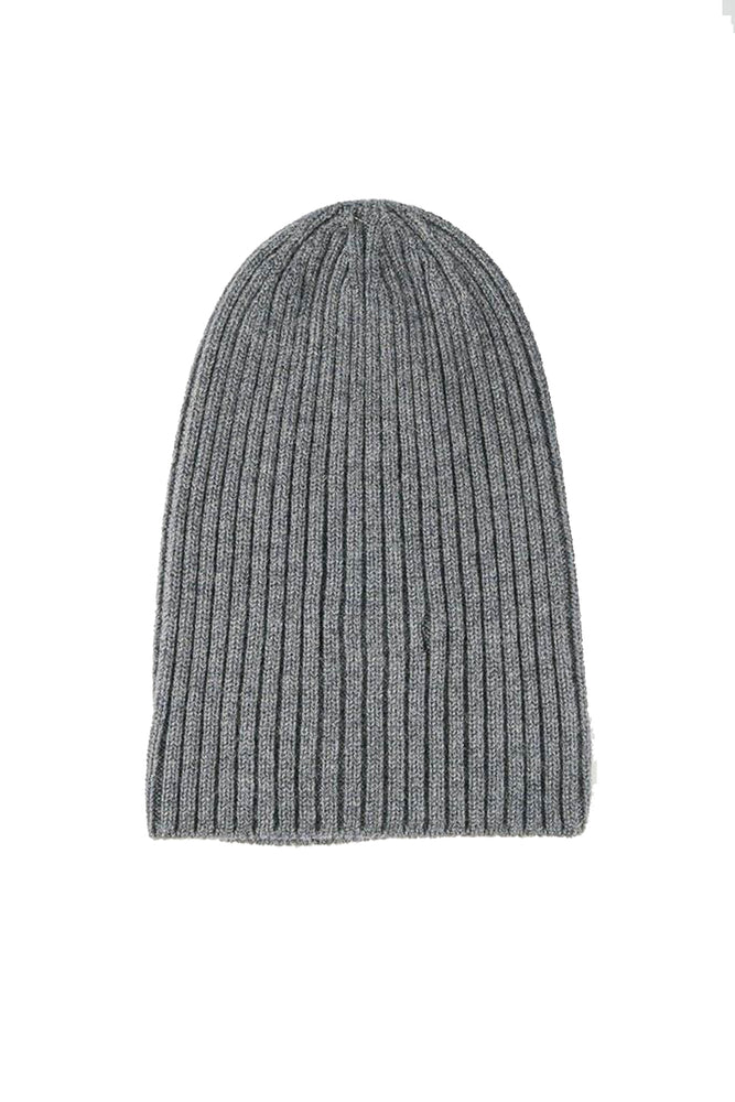Merino Wool Watch Cap - Charcoal