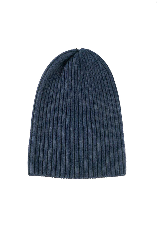 Merino Wool Watch Cap - Navy