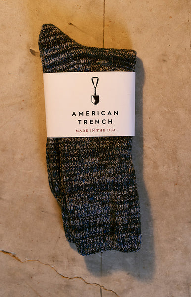 American Trench PAvement Random Plait Sock