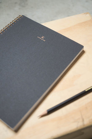 Appointed Notebooks - Charcoal Grey