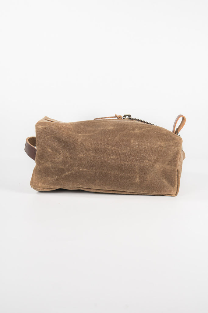 Bradley Mountain Brushed Brown Dopp Kit