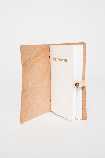Bradley Mountain Natural Leather Tennyson Journal