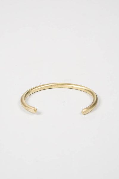 Cause & Effect Thin Brass Cuff