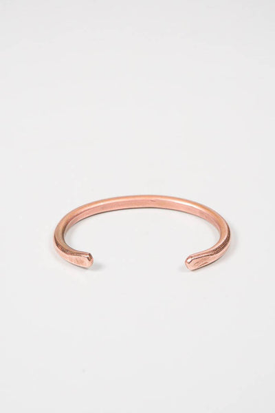 Cause & Effect Thin Copper Cuff
