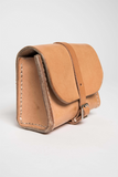 Cicadia Leather Small Natural Dopp Kit