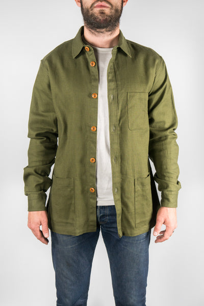 Corridors NYC Army Green Military Overshirt