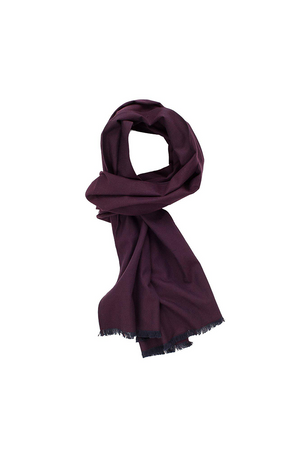 Corridor NYC Brushed Plum Scarf