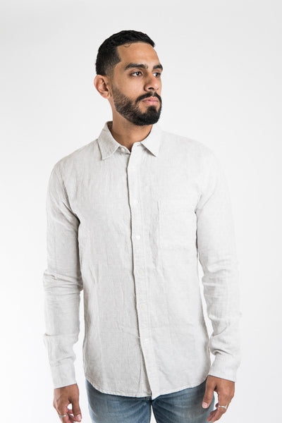 Dove Double Cloth Shirt