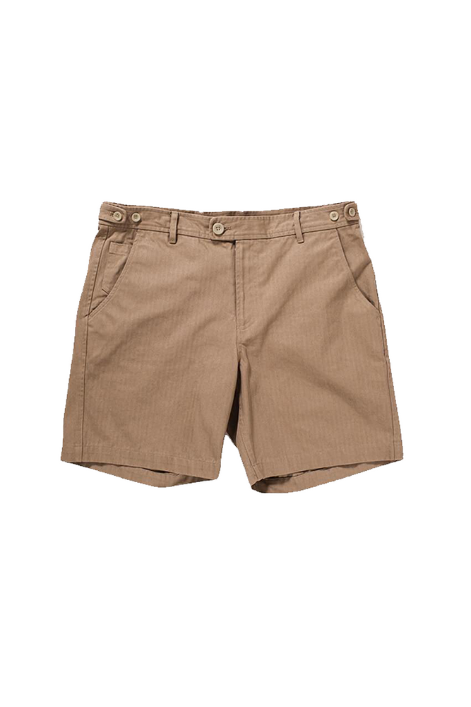 Herringbone Short - Khaki