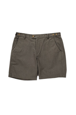 Herringbone Short - Faded Olive